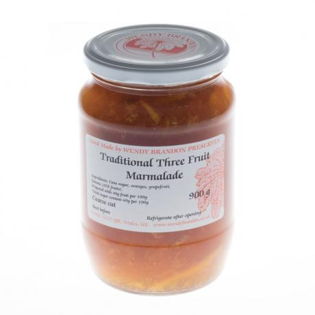 Traditional Three Fruit Marmalade Large Jar 850g