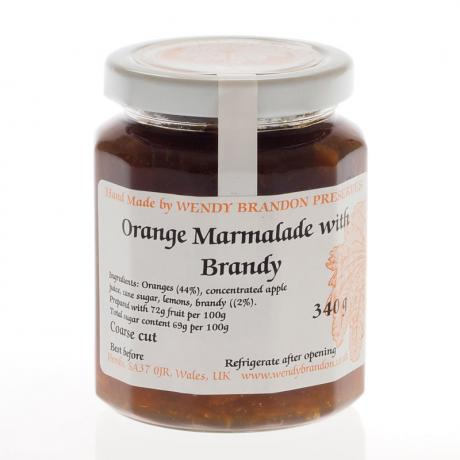 Orange Marmalade with Brandy (340g)