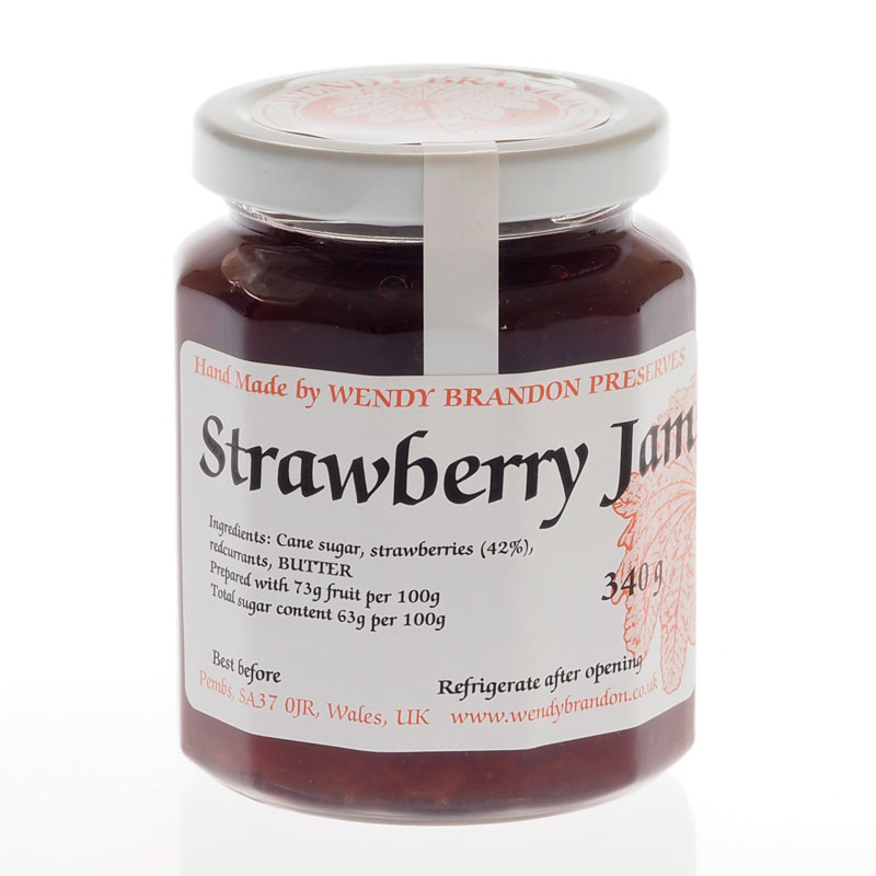 Strawberry Jam 340g jar