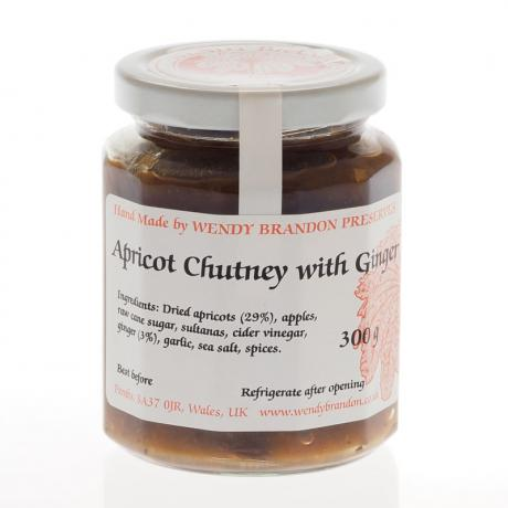 Apricot Chutney with Ginger (300g)