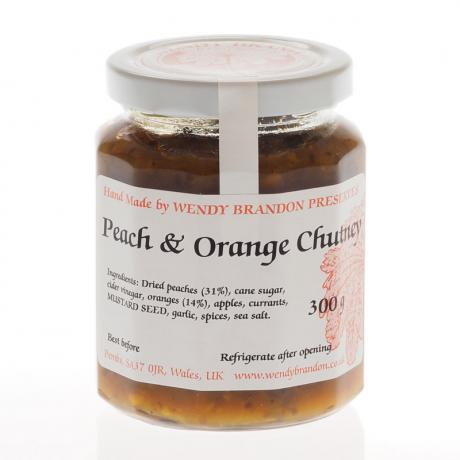 Peach & Orange Chutney (300g)