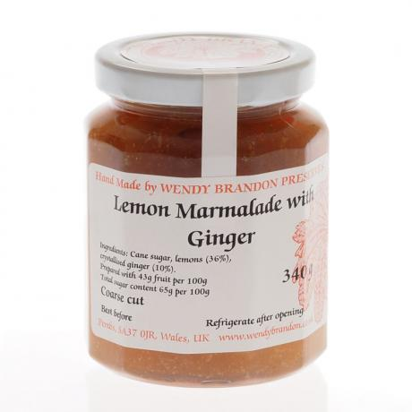 Lemon Marmalade with Ginger (340g)