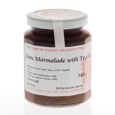Lime Marmalade with Tequila 340g
