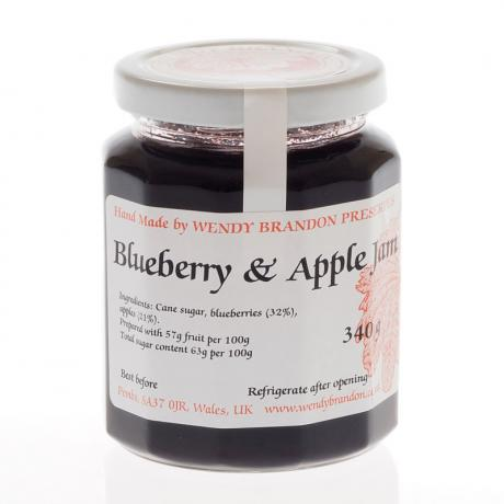 Blueberry & Apple Jam (340g)