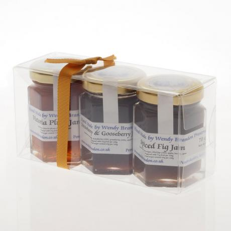 3 x (70g) jams - acetate pack