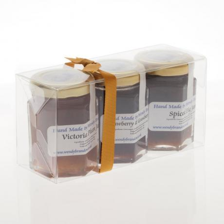 3 x 70g jams - acetate pack