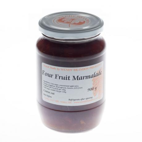Four Fruit Marmalade Large Jar (850g)