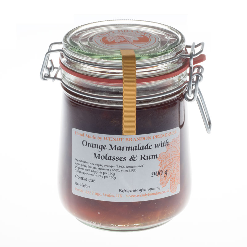 Orange Marmalade with Molasses and Rum Parfait Jar (900g)