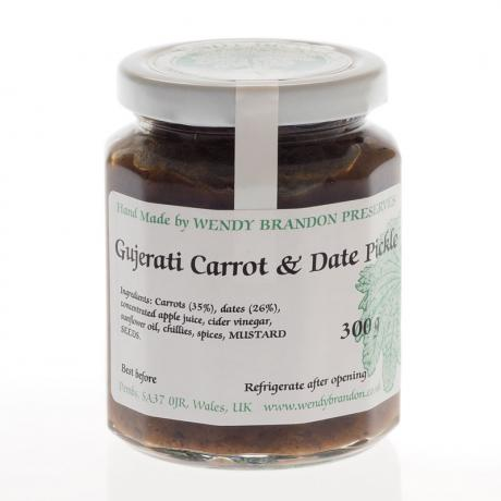 Gujerati Carrot & Date Pickle (300g)