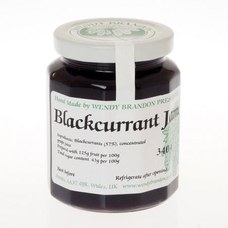 Blackcurrant Jam (340g)