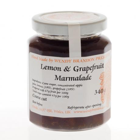Lemon & Grapefruit Marmalade (340g)