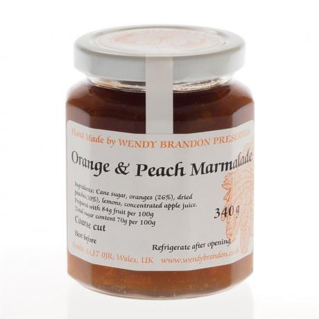 Orange & Peach Marmalade (340g)