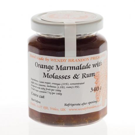 Orange Marmalade with Molasses & Rum (340g)