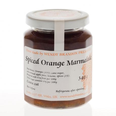 Spiced Orange Marmalade (340g)