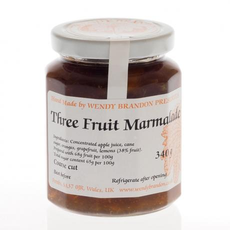 Three Fruit Marmalade (340g)