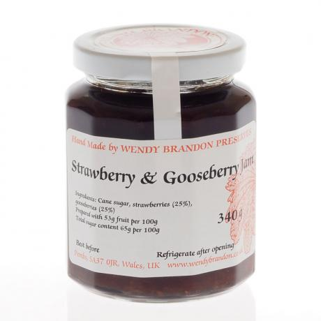Strawberry & Gooseberry Jam (340g)