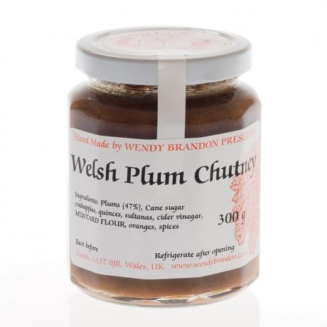 Welsh Plum Chutney (300g)