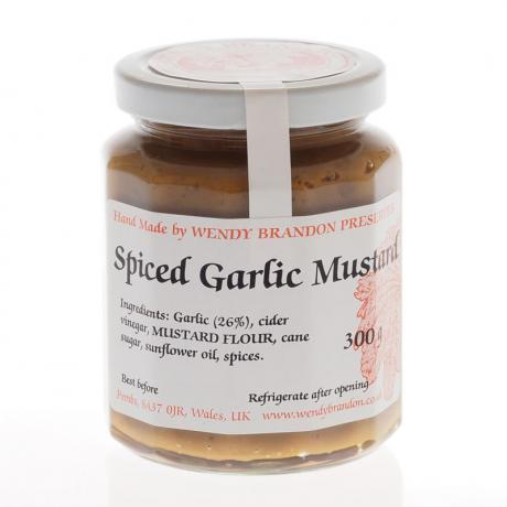 Spiced Garlic Mustard (300g)