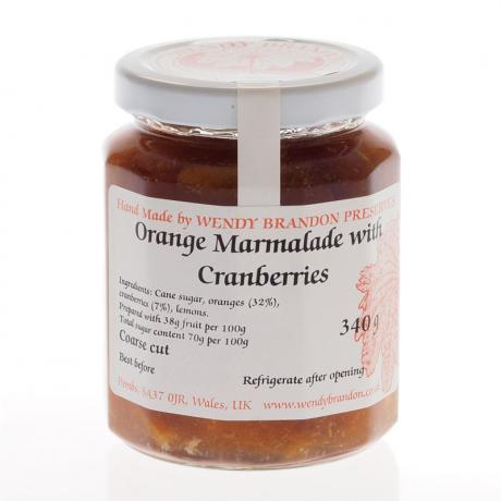 Orange Marmalade with Cranberries (340g)