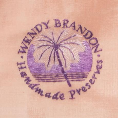 Our embroidered tree fern logo