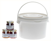 Large trade 3kg tub and 3 x 70g Miniature Jars
